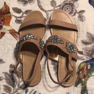 Fun jeweled sandals!